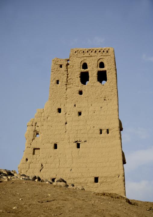 House In Marib Old Town, Yemen