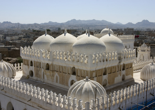 The Amiriya Palace Mosque In Rada, Yemen