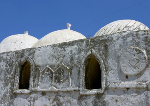 Domes On The Top Of A Public Bath, Al Ganat, Yemen
