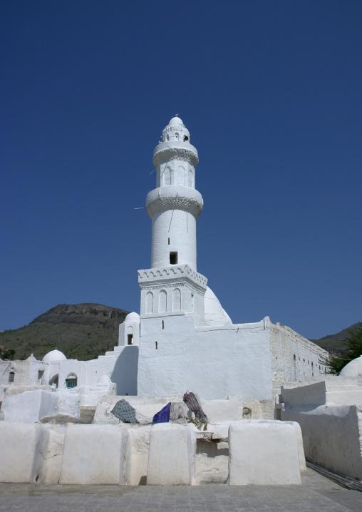 Mosque Of Ahmed Ibn Alwan In Yafrus, Yemen