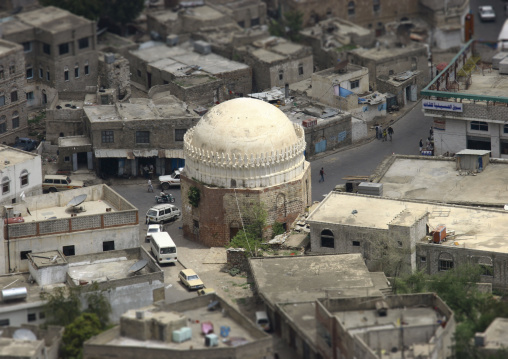 Over View Of A Dome In Taiz, Yemen