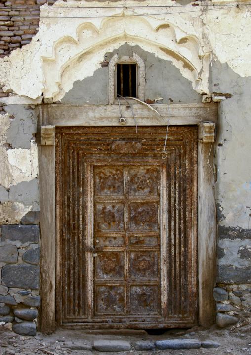 Door Of An Old House In Mocha, Yemen