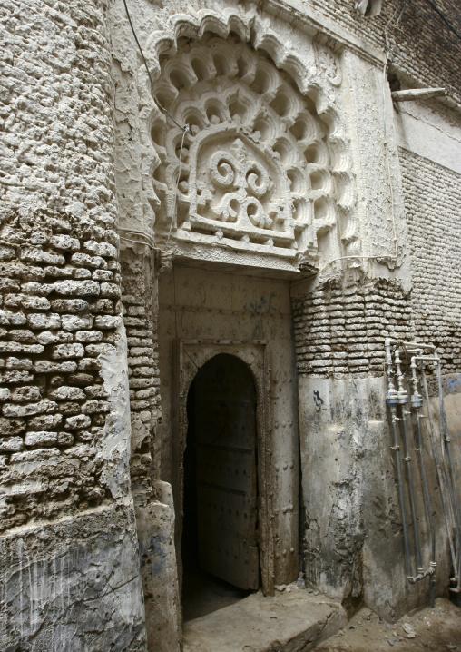 Sculpted Door, Zabid, Yemen