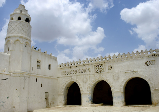 Courtyard Of A Mosque, Zabid, Yemen