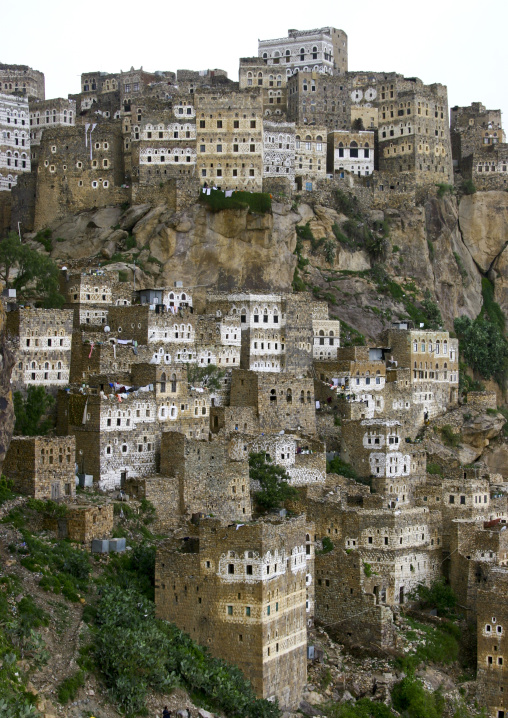 Al Hajjarah Village, Jabal Haraz , Yemen