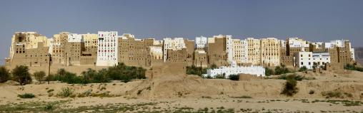 Panorama Of Shibam Old Town, Yemen