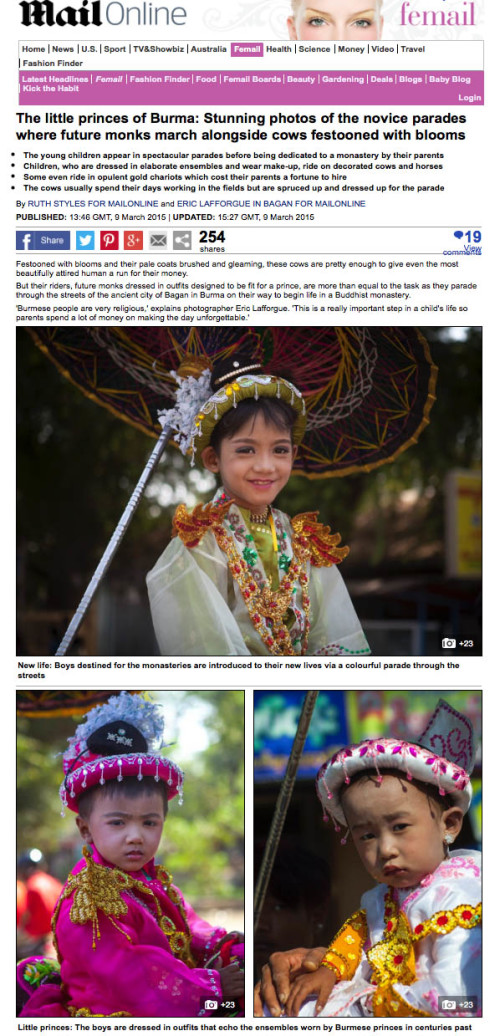 Daily Mail - Burma