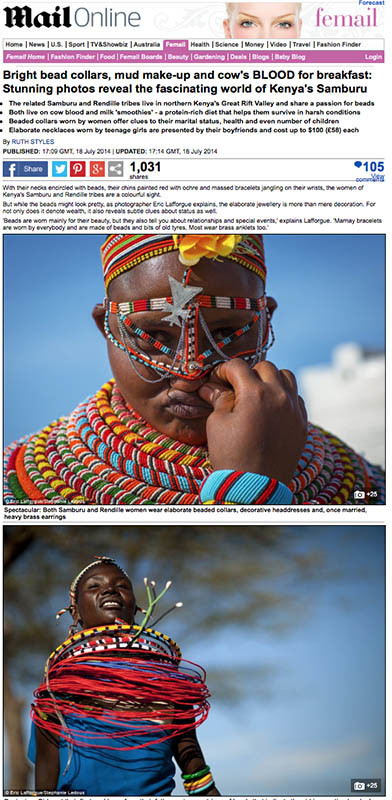 Daily Mail - Samburu
