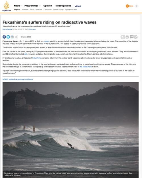 Al Jazeera - Fukushima