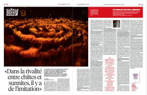 Libération - Sunnites et Shiites