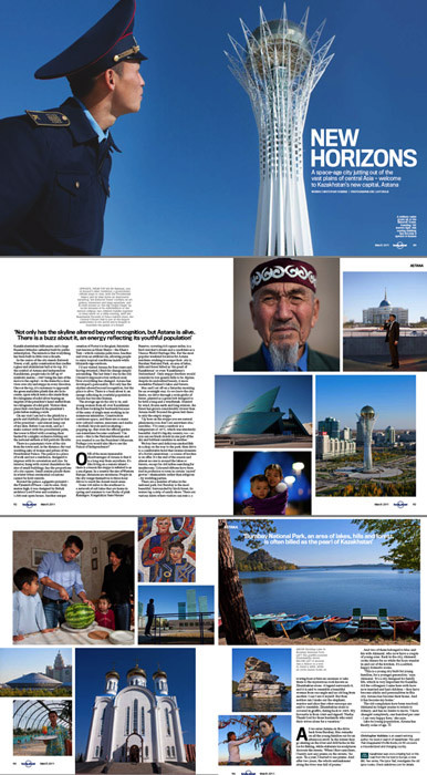 Lonely Planet Magazine - Astana