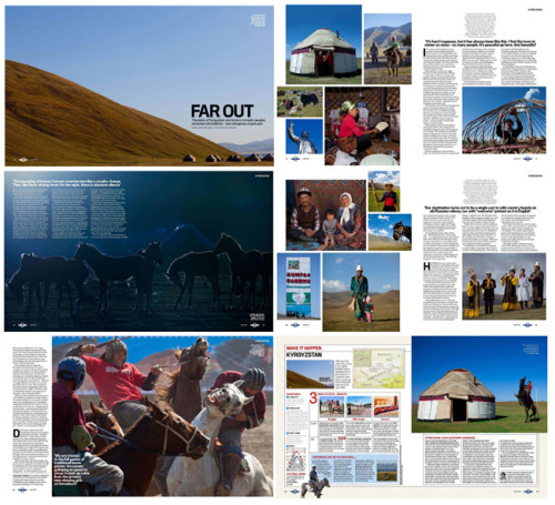 Lonely Planet Magazine - Kyrgystan