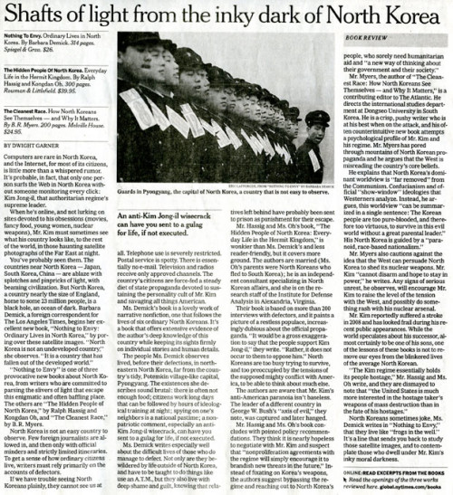 New York Times - North Korea