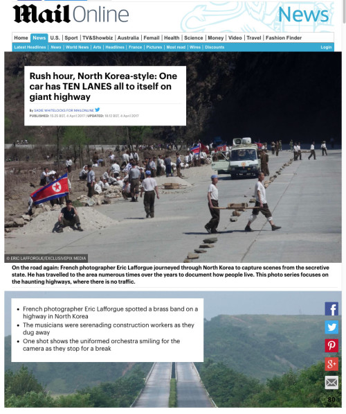 Daily Mail - NK style